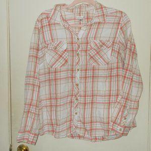 Croft & Barrow Plaid Flannel Size Extra Large